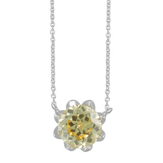 SIRI USA Sterling Silver Canary Yellow Cubic Zirconia Pendant|https://ak1.ostkcdn.com/images/products/11800438/P18709198.jpg?_ostk_perf_=percv&impolicy=medium