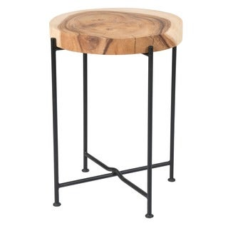 Kani Side Table With Iron leg-Small