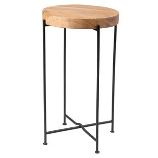 Kali Side Table With Iron leg