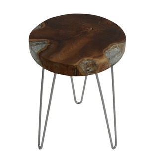Kaiolohia Side Table Small in Icy Wood