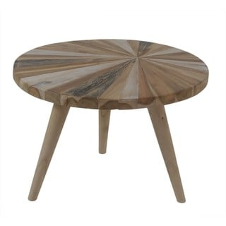 Halina Round Nesting Table With Wood Pin legs