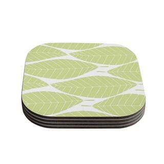 Kess InHouse Anchobee 'Hojitas' Coasters (Set of 4)