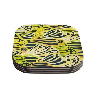 Kess InHouse Anchobee 'Papalote' Coasters (Set of 4)