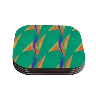 Kess InHouse Alison Coxon 'Deco Art' Coasters (Set of 4)