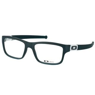 Oakley Marshal OX8034-0153 Satin Black Plastic Rectangle Eyeglasses
