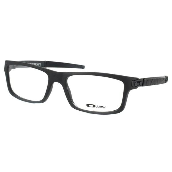 8644ef93d9a6c Shop Oakley Currency OX8026-0154 Satin Black Square 54mm Eyeglasses ...