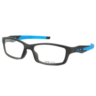 Oakley Crosslink OX8027-0153 Satin Black Rectangle Sport 53mm Eyeglasses