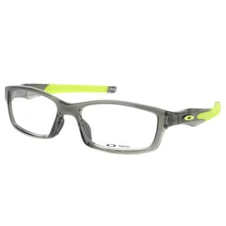 Oakley Crosslink OX8027-0253 Grey Smoke Rectangle Sport 53mm Eyeglasses