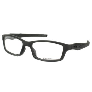 Oakley Crosslink OX8027-0553 Satin Black Rectangle Sport 53mm Eyeglasses