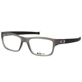 Oakley Marshal OX8034-0853 Satin Grey Smoke Plastic Rectangle 53mm Eyeglasses