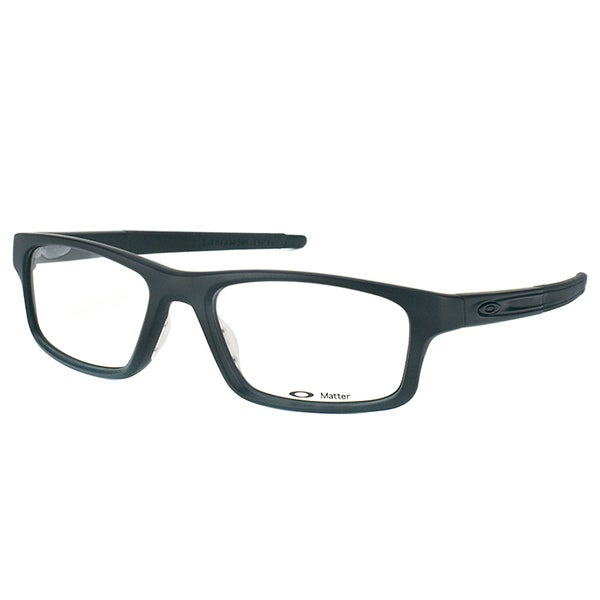 1ee90e7b48 Oakley Crosslink Pitch OX8037-0152 Satin Black Rectangle Sport 52mm  Eyeglasses