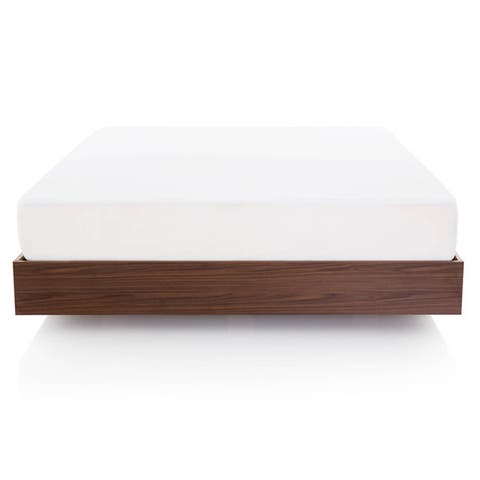 Rayon from Bamboo Jersey Waterproof Fitted Mattress Protector by Lucid Comfort Collection