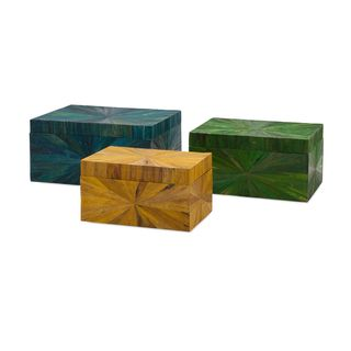 Trinidad Waterhyacinth Boxes (Set of 3)