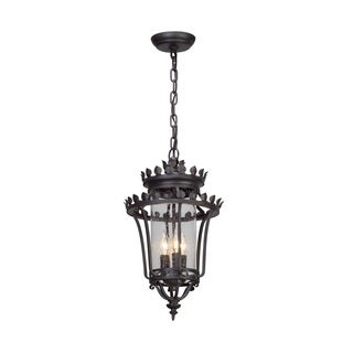 Troy Lighting Greystone Forged Iron Outdoor Pendant