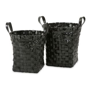 Carswell Recycled Tire Baskets (Set of 2)