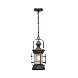 Troy Lighting Atkins Centennial Rust Outdoor Pendant