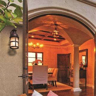 Troy Lighting Webster 18-inch Vintage Bronze Outdoor Wall Light
