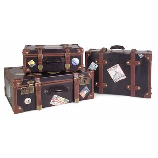 Labeled Suitcases (Set of 3)