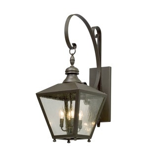 Troy Lighting Mumford 31-inch Bronze Outdoor Wall Light
