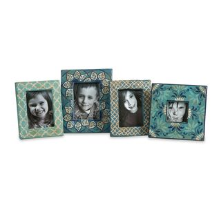 Kabir Hand-painted Frames (Set of 4)