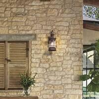 Troy Lighting Atkins 22-inch Centennial Rust Outdoor Wall Light