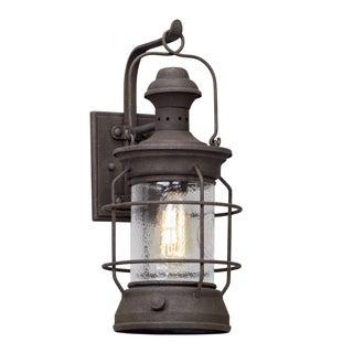 Troy Lighting Atkins 18-inch Centennial Rust Outdoor Wall Light