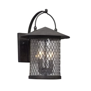 Troy Lighting Altamont 14-inch French Iron Outdoor Wall Light