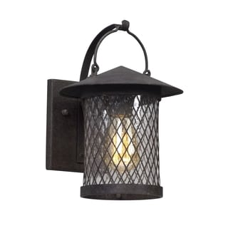 Troy Lighting Altamont 12-inch French Iron Outdoor Wall Light