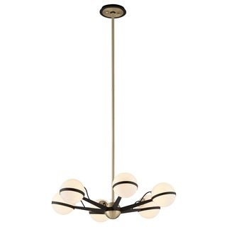Troy Lighting Ace 6-light Bronze/ Brass Chandelier