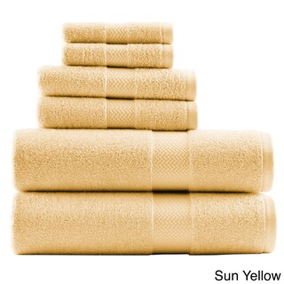 Tommy Bahama Cypress Bay Terry Cotton 6-piece Towel Set (Option: Sun Yellow)