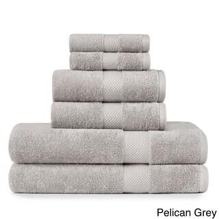 Tommy Bahama Cypress Bay Terry Cotton 6-piece Towel Set (Option: Pelican Grey)