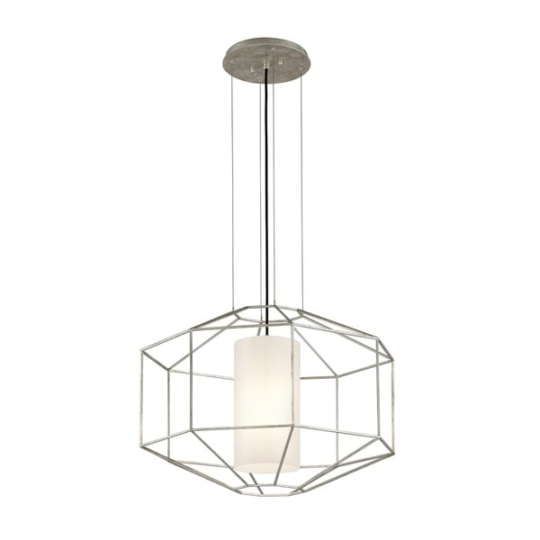 Troy Lighting Silhouette Silver Leaf 5216 Pendant