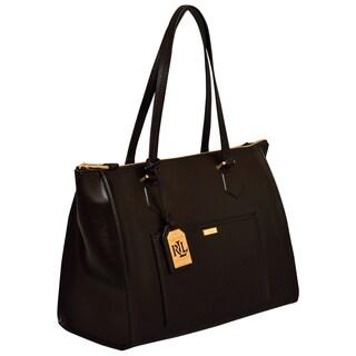 Ralph Lauren Lowell Satchel Handbag