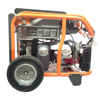 Smart Generators CARB-approved Portable 8400-watt Tri-fuel Generator Package