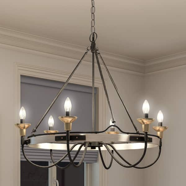 Quoizel Castle Hill 6 Light Chandelier Free Shipping