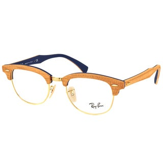 Ray-Ban RX 5154M 5559 Clubmaster Cherry Wood 51mm Eyeglasses
