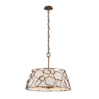 Troy Lighting Coda 5-light Copper Leaf Pendant
