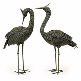 Metal Coastal Birds (Set of 2)