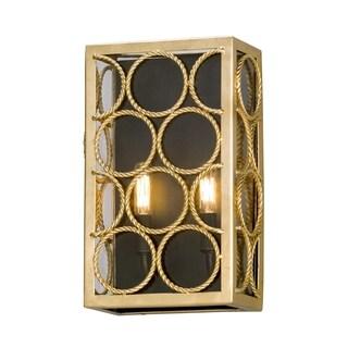 Troy Lighting Bottega Gold/ Bronze Wall Sconce