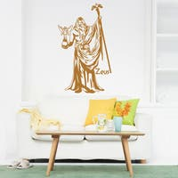Zeus Vinyl Wall Art Decal