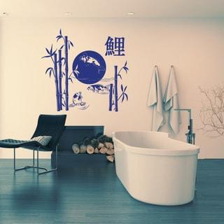 Koi Lake Vinyl Wall Art Decal