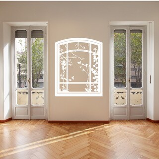 Spring Window Vinyl Wall Art Decal
