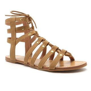 Qupid Archer 165 Gladiator Sandal