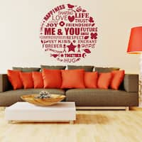 Me and You Vinyl Wall Art Decal