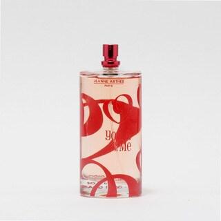 Jeanne Arthes You & Me Women's 3.3-ounce Eau de Parfum Spray (Tester)
