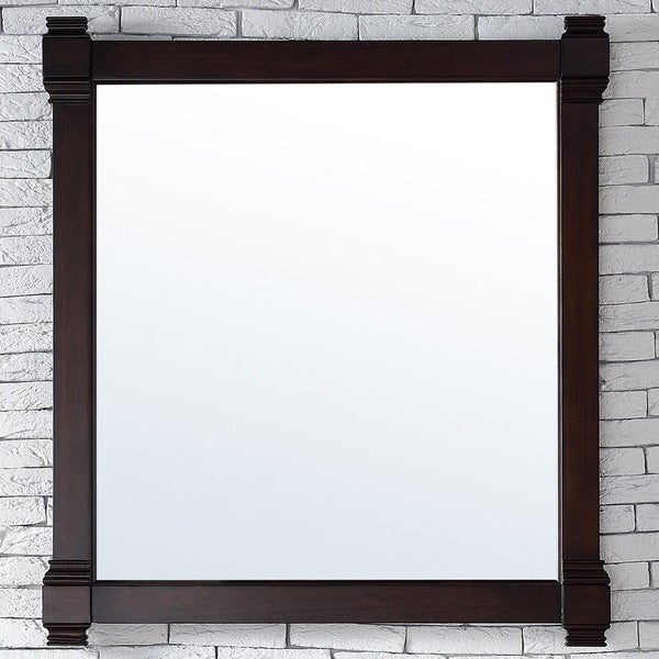 Brittany Burnished Mahogany 35-inch Mirror - burnished mahogany - A/N