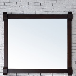 Brittany Burnished Mahogany Wooden 43-inch Mirror - Brown - A/N