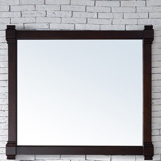 Brittany Burnished Mahogany Wooden 43-inch Mirror