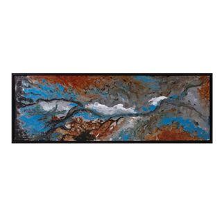 Serena Framed Oil Painting on Metal