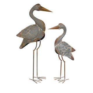 Fairfax Metal Cranes - Set of 2